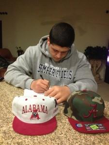 Cole Mazza Signing