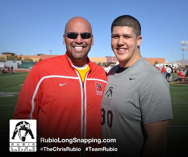 Rubio Long Snapping and Cole Mazza