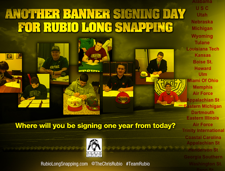 Rubio Long Snapping