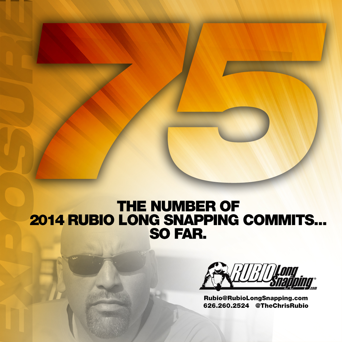 Rubio Long Snapping Commits