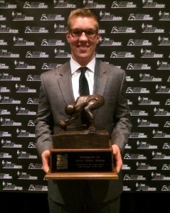 Blake Ferguson of LSU is a two time winner of The Chris Rubio Award