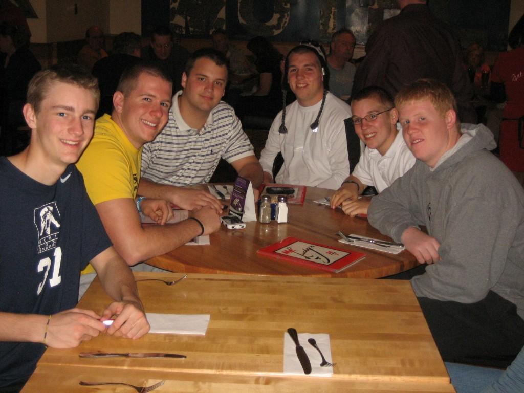 Taybor, Reid, Blake, Kelly, Cory at Vegas