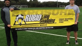 Rubio Long Snapping Lessons Weekend of March 12 -13